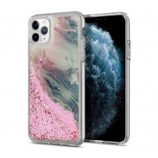 Iphone 11 dėklas  Vennus WATER Stone rožinis