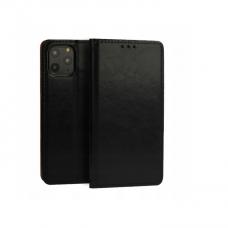 iphone 11 pro max natūralios odos dėklas Book Special juodas