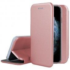 iphone 11 pro atverčiamas dėklas Book elegance rožinis