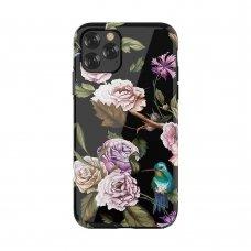 Iphone 11 pro dėklas Devia Perfume Lily TPU juodas