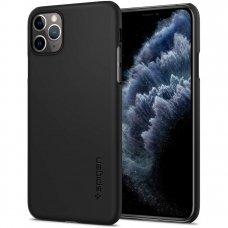akcija! Iphone 11 pro dėklas Spigen Thin Fit  juodas