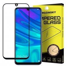 Huawei P Smart plus 2019 lenktas grūdintas apsauginis stiklas Wozinsky juodais kraštais