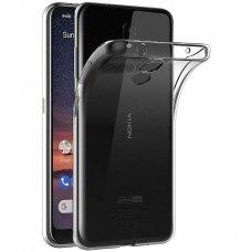 Nokia 3.2 dėklas high clear 1,0mm silikonas skaidrus