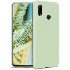 Huawei P smart z dėklas Liquid Silicone žalias