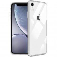 Iphone xr dėklas X-Level Space PC plastikas+TPU skaidrus