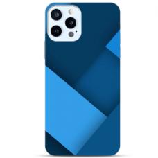 """Iphone 11 Pro max TPU dėklas unikaliu dizainu 1.0 mm """"u-case Airskin Blue design"""""""