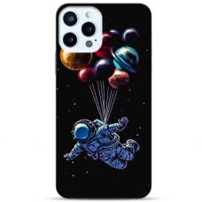 """Iphone 11 Pro max TPU dėklas unikaliu dizainu 1.0 mm """"u-case Airskin Cosmo design"""""""
