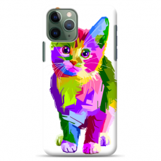 "Iphone 11 Pro max TPU dėklas unikaliu dizainu 1.0 mm ""u-case Airskin Kitty design"""