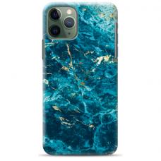 """Iphone 11 Pro max TPU dėklas unikaliu dizainu 1.0 mm """"u-case airskin Marble 2 design"""""""
