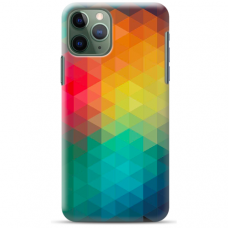 "Iphone 11 Pro max TPU dėklas unikaliu dizainu 1.0 mm ""u-case Airskin Pattern 3 design"""