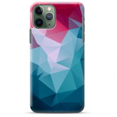 "Iphone 11 Pro Max TPU dėklas unikaliu dizainu 1.0 mm ""u-case Airskin Pattern 8 design"""