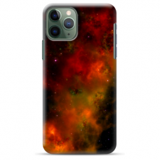 "Iphone 11 Pro max TPU dėklas unikaliu dizainu 1.0 mm ""u-case Airskin Space 1 design"""