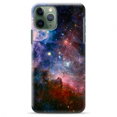 "Iphone 11 Pro max TPU dėklas unikaliu dizainu 1.0 mm ""u-case Airskin Space 2 design"""