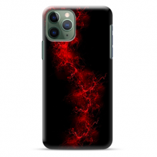 "Iphone 11 Pro max TPU dėklas unikaliu dizainu 1.0 mm ""u-case Airskin Space 3 design"""