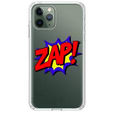 """Iphone 11 Pro max TPU dėklas unikaliu dizainu 1.0 mm """"u-case airskin ZAP design"""""""