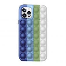 Iphone 11 pro silikoninis dėklas POP IT Design 2
