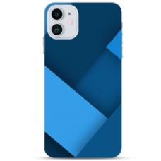 """Iphone 11 Pro TPU dėklas unikaliu dizainu 1.0 mm """"u-case Airskin Blue design"""""""