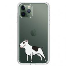 """Iphone 11 Pro TPU dėklas unikaliu dizainu 1.0 mm """"u-case Airskin Doggo 3 design"""""""