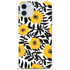 """Iphone 11 Pro TPU dėklas unikaliu dizainu 1.0 mm """"u-case Airskin Flowers 2 design"""""""