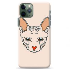 "Iphone 11 pro TPU dėklas unikaliu dizainu 1.0 mm ""u-case Airskin Kato design"""