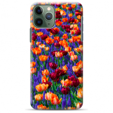 "Iphone 12 Pro TPU dėklas unikaliu dizainu 1.0 mm ""u-case Airskin Nature 2 design"""