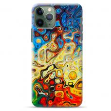 """Iphone 11 Pro TPU dėklas unikaliu dizainu 1.0 mm """"u-case Airskin Pattern 1 design"""""""