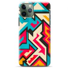 """Iphone 11 Pro TPU dėklas unikaliu dizainu 1.0 mm """"u-case Airskin Pattern 7 design"""""""