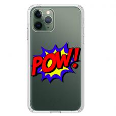 "Iphone 11 Pro TPU dėklas unikaliu dizainu 1.0 mm ""u-case Airskin POW design"""