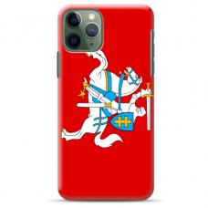 """Iphone 11 Pro TPU dėklas unikaliu dizainu 1.0 mm """"u-case Airskin Vytis design"""""""