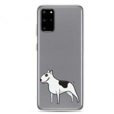 "Samsung Galaxy Note 10 Lite TPU dėklas unikaliu dizainu 1.0 mm ""u-case Airskin Doggo 3 design"""