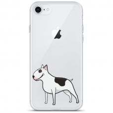 "Iphone 7 Plus / Iphone 8 Plus TPU DĖKLAS UNIKALIU DIZAINU 1.0 MM 1.0 mm ""u-case airskin Doggo 3 design"""