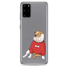 "Samsung Galaxy Note 10 Lite TPU dėklas unikaliu dizainu 1.0 mm ""u-case Airskin Doggo 5 design"""