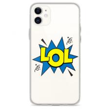 """Iphone 12 TPU dėklas unikaliu dizainu 1.0 mm """"u-case Airskin LOL design"""""""