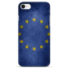 "Iphone 6/6s TPU dėklas unikaliu dizainu 1.0 mm ""u-case Airskin EU design"""