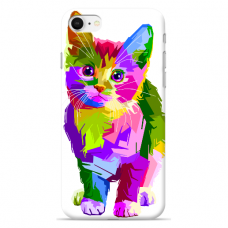 "Iphone 6/6s TPU dėklas unikaliu dizainu 1.0 mm ""u-case Airskin Kitty design"""