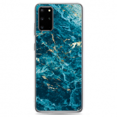 "Samsung Galaxy S20 TPU dėklas unikaliu dizainu 1.0 mm ""U-case Airskin Marble 2 design"""