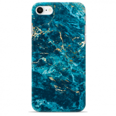 "Iphone 7 Plus / Iphone 8 Plus TPU dėklas unikaliu dizainu 1.0 mm ""u-case airskin Marble 2 design"""
