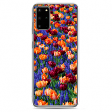"""Samsung Galaxy S20 plus TPU dėklas unikaliu dizainu 1.0 mm """"u-case Airskin Nature 2 design"""""""