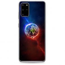 """Samsung Galaxy S20 TPU dėklas unikaliu dizainu 1.0 mm """"u-case Airskin Nature 4 design"""""""