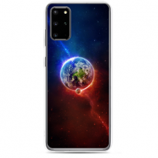 """Samsung Galaxy S20 plus TPU dėklas unikaliu dizainu 1.0 mm """"u-case Airskin Nature 4 design"""""""