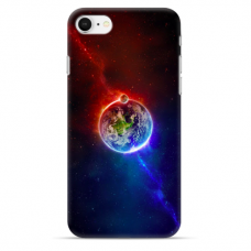 "Iphone 7 Plus / Iphone 8 Plus TPU dėklas unikaliu dizainu 1.0 mm ""u-case airskin Nature 4 design"""