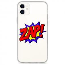 """Iphone 12 TPU dėklas unikaliu dizainu 1.0 mm """"u-case Airskin ZAP design"""""""