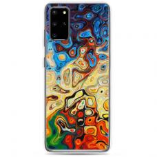 """Samsung Galaxy S20 TPU dėklas unikaliu dizainu 1.0 mm """"u-case Airskin Pattern 1 design"""""""