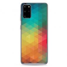 """Samsung Galaxy S20 TPU dėklas unikaliu dizainu 1.0 mm """"u-case Airskin Pattern 3 design"""""""