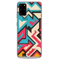 "Samsung Galaxy S20 plus TPU dėklas unikaliu dizainu ""u-case Airskin Pattern 7 design"""