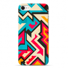 "Iphone 6/6s TPU dėklas unikaliu dizainu 1.0 mm ""u-case Airskin Pattern 7 design"""