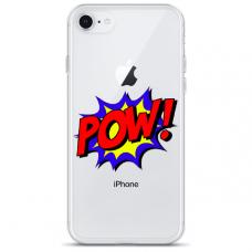 "Iphone SE 2020 TPU dėklas unikaliu dizainu 1.0 mm ""u-case Airskin POW design"""