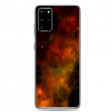 "Samsung Galaxy Note 10 Lite TPU dėklas unikaliu dizainu 1.0 mm ""u-case Airskin Space 1 design"""
