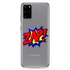 """Samsung Galaxy S10 Lite TPU dėklas unikaliu dizainu 1.0 mm """"u-case Airskin ZAP design"""""""