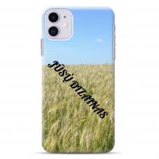 Iphone 11 TPU dėklas nugarėlė su jūsų dizainu. Dėklas gaminamas su jūsų pateikta nuotrauka